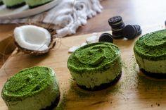 Matcha Cheesecakes