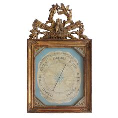 18c French Louis XVI Barometer ( i know, i know its not a clock)