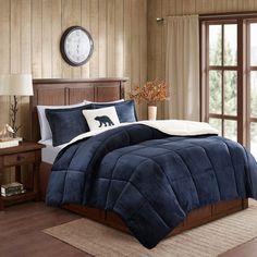 f7501754d694 Woolrich Alton Plush to Sherpa Fleece Comforter Set