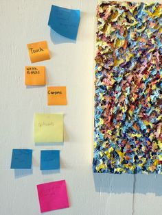 Artists on the Lam: LEXICON Post-its & Artist Statements