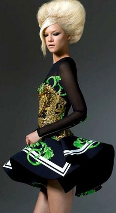 Kasia Struss for Versace Atelier Fall/Winter 2011-2012 Collection