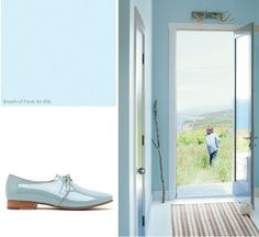 A Breath of Fresh Air: The Color of 2014! - Apartment 34…call it baby blue, call it pale blue, call it what you will, it is still lovely!