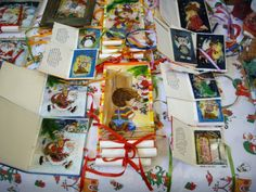Christmas cards(paitings on glass) Adriana Mihoc Dragus