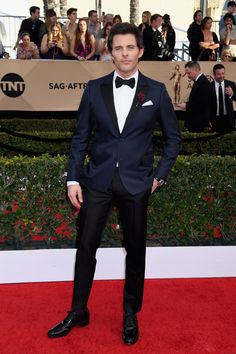 Dreamy! James Marsden made all the ladies swoon with this dapper ensemble. (Photo by Jeff Kravitz/FilmMagic)  via @AOL_Lifestyle Read more: https://www.aol.com/article/entertainment/2017/01/29/sag-awards-2017-best-and-worst-dressed/21702736/?a_dgi=aolshare_pinterest#fullscreen