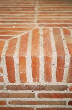 stunning edge done with Lanes Ceramic klompie bricks Garden Architecture, Architecture Details, It Is Finished, Clay, Walkways, Wells, Bricks, Fireplaces, Farm House