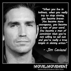 One of my favorite actors. Funny, smart and a Christian. Triple threat.