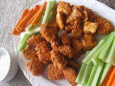 Healthy buffalo chicken