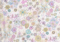 Macleod D Liberty print Fat Eighth, small scale pink floral Spring/Summer 2013 Liberty of London Tana Lawn