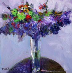 """""""Violet Light with Green Bouquet"""" - Robert Burridge"""