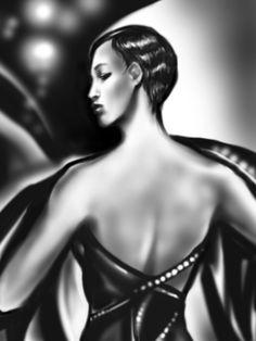 Titolo: Una Tecnica: disegnato con Photoshop By Laura Giordanengo