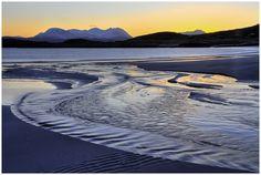 Dawn at Mellon Udrigle beach Scottish Highlands