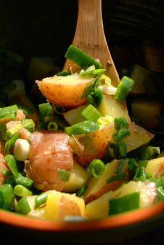 Garlic Potato Salad low-sodium - The Daily Dish.