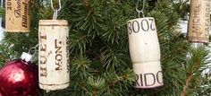 -so many special corks ready to hang!  YAY!!! use paper clips to hang wine #corks on your #Christmas tree! ;D #ornaments