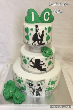 Promise marriage cake