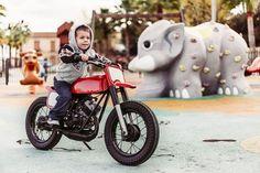 Kacerwagen Moto Guzzi Pony Flat Track Racer Mini