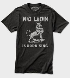 No lion is born king. Not even Simba.