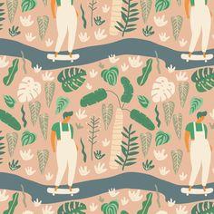 Go green fabric by tasiania on Spoonflower - custom fabric