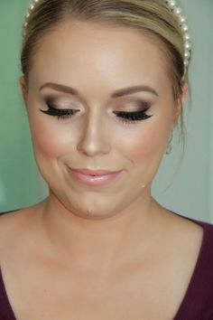 ~ we ❤ this!  moncheribridals.com ~ #weddingmakeup