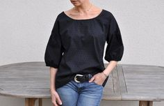 nothing halfway- blog is in French- love this top