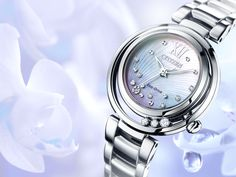 We're pleased to unveil Sunrise from the Citizen L Collection. The unique design of this watch allows 3 diamonds to move freely on the bezel.  Model: EM0320-59D. RRP: £569. More info: http://bit.ly/ZfNIHO