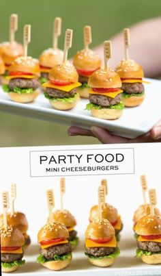 Snacks Für Party, Appetizers For Party, Appetizer Recipes, Party Recipes, Simple Appetizers, Healthy Appetizers, Shower Appetizers, Crowd Appetizers, Dinner Recipes