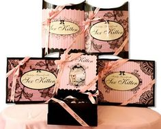Blossom Style Inspiration by A Design Queen: Innovative Lingerie Packaging