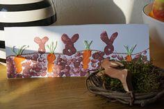 DIY Ostern // Malen mit Fingerfarbe – Reges Leben Finger, Diy Ostern, Planter Pots, Table Lamp, Spring, Home Decor, School, Life, Crafting