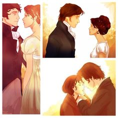 Jane Austen masterpiece Pride and Prejudice meets the silver screen! This is not the BBC version, but still a worthy watch indeed. What romance! What a plot! BUT THIS PICTURE THO Jane Austen masterpiece Pride and Prejudice meets the silv Fanart, Estilo Gossip Girl, Darcy And Elizabeth, Pride And Prejudice 2005, Jane Austen Books, Romance Art, Mr Darcy, Jolie Photo, Film Serie