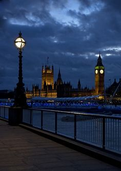 Westminster at night,London