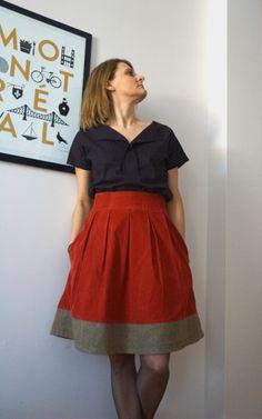 Chardon skirt - Deer and Doe - by Autant en emporte l'automne