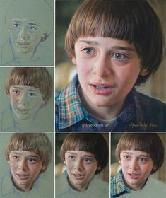 Things Gorgeous Fan Art From 21 Artists Stranger Things Fan Art of Will by Dave Porter. Colored Pencils Portrait Drawing Step By Step Art TutorialStranger Things Fan Art of Will by Dave Porter. Colored Pencils Portrait Drawing Step By Step Art Tutorial Pencil Portrait Drawing, Colored Pencil Portrait, Color Pencil Art, Painting People, Drawing People, Drawing Things, Will Byers, Pastel Portraits, Stranger Things Netflix