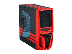 Buy RAIDMAX Blade Black/Red Steel / Plastic ATX Mid Tower Computer Case with fast shipping and top-rated customer service. Computer Case, Computer Technology, Blade, Locker Storage, Tower, Home Appliances, Plastic, Steel, Recipes