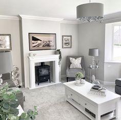 Cosy Grey Living Room, Dark Living Rooms, Elegant Living Room, Home Living Room, Living Room Decor, Interior Design Lounge, Lounge Design, Living Room Styles, Living Room Designs