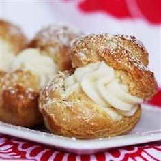 Cream Puffs - An easy and impressive way to make a great dessert. Whip them up and watch them disappear!