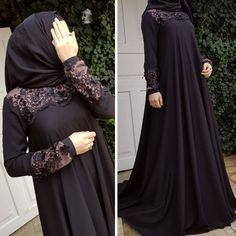 Burqa Designs, Abaya Designs, Abaya Fashion, Fashion Dresses, Hijab Style Dress, Muslim Women Fashion, Modele Hijab, Muslim Dress, Islamic Clothing