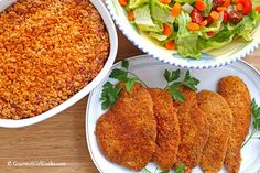 Gourmet Girl Cooks: Sunday Dinner - Italian Seasoned Chicken Cutlets & Cheesy Cheddar Squash Casserole