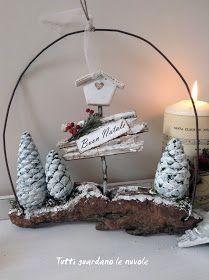 "Buon Natale {Italian}Merry Christmas ""Christmas Decoration "" Tutti guardano le nuvole {Italian}""Everyone looks at the clouds""-L'amore e vita(Waiting Christmas) Christmas Makes, Rustic Christmas, Winter Christmas, Christmas Wreaths, Christmas Ornaments, Merry Christmas, Christmas Projects, Holiday Crafts, Diy Natal"