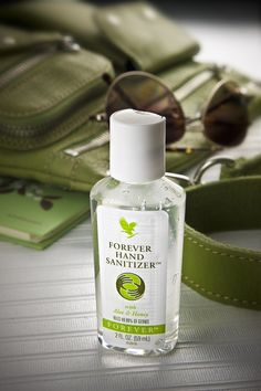 Keep safe with our portable size hand sanitizer, with Aloe & Honey! www.anja.flp.com