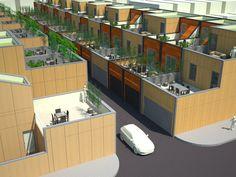 High-Density, Low-Rise, Housing - Scott Lowe | Architecture