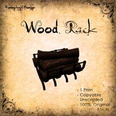 [DDD] Wood Rack - 100% Mesh