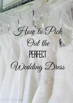 On-Site Wedding Receptions | Five Tips on Picking Out THE Dress!