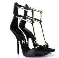 Hot Selling Fashion Dress Shoes High Heels Sandals Women Open Toe Covered Heels Designer Sandals