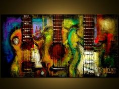 Original Painting - Modern Abstract Art by SLAZO - Free... | review | Kaboodle