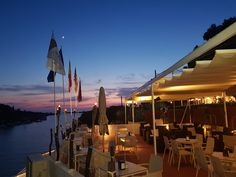 Sa Nacra Opera House, Sunset, Building, Travel, Restaurant, Menorca, Sunsets, Construction, Trips