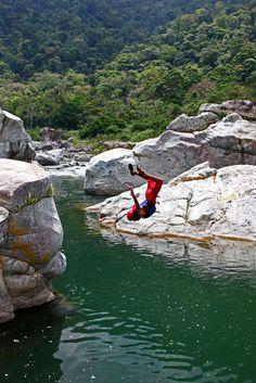 Flip out. La Ceiba, Honduras