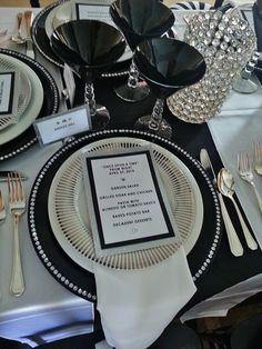 Pre Prom Dinner Party by www.settingthemood.biz