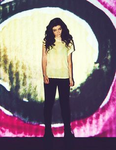 Lorde. Full name: Ella Marija Lani Yelich-O'Connor