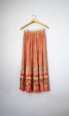 Gypsy Boho Vintage Skirt