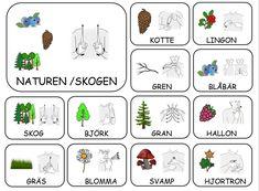 Teckenkartor Sign Language Book, Sign Language Phrases, Maths In Nature, Learn Swedish, Swedish Language, Learn English Grammar, English Alphabet, School Signs, Farm Theme