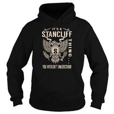I Love Its a STANCLIFF Thing You Wouldnt Understand - Last Name, Surname T-Shirt (Eagle) T shirts